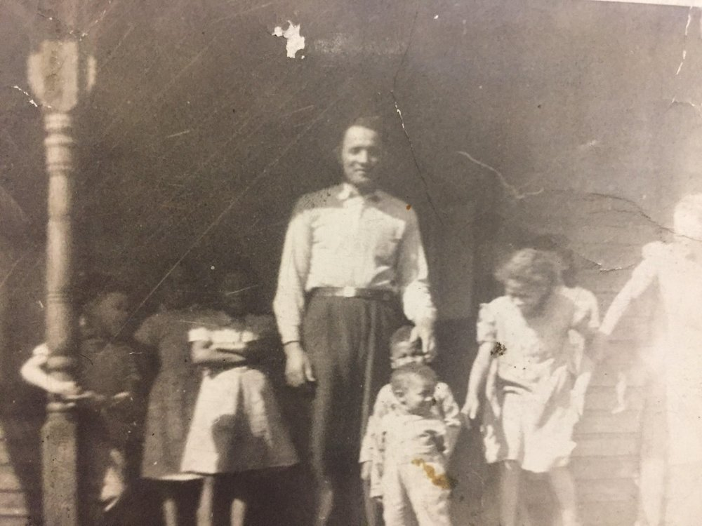 My Great Grandfather and his grandchildren