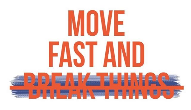 #Facebook's New Mantra: Move Fast and Fix Everything. New Medium article - link in bio!