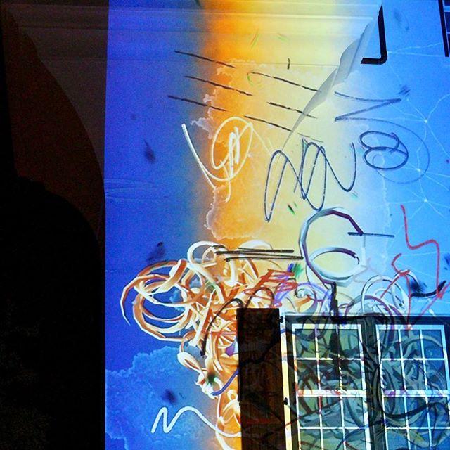 @dgalysbeach @unsplash #photography #projection #digitalgraffiti #art #textures #colors #building #night #projectionmapping #digitalart #dgalysbeach #alysbeach