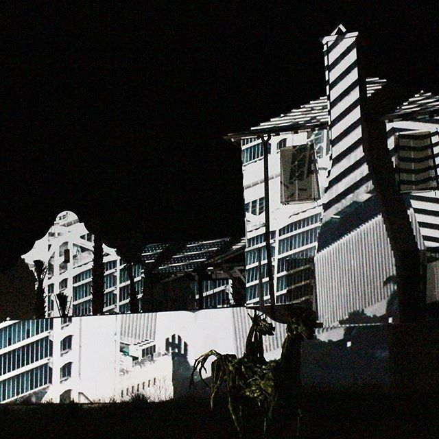 @dgalysbeach @unsplash #photography #projection #digitalgraffiti #art #shadows #white #building #night #projectionmapping #digitalart #dgalysbeach #alysbeach