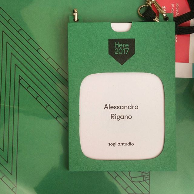 and this is how you badge. #herelondon