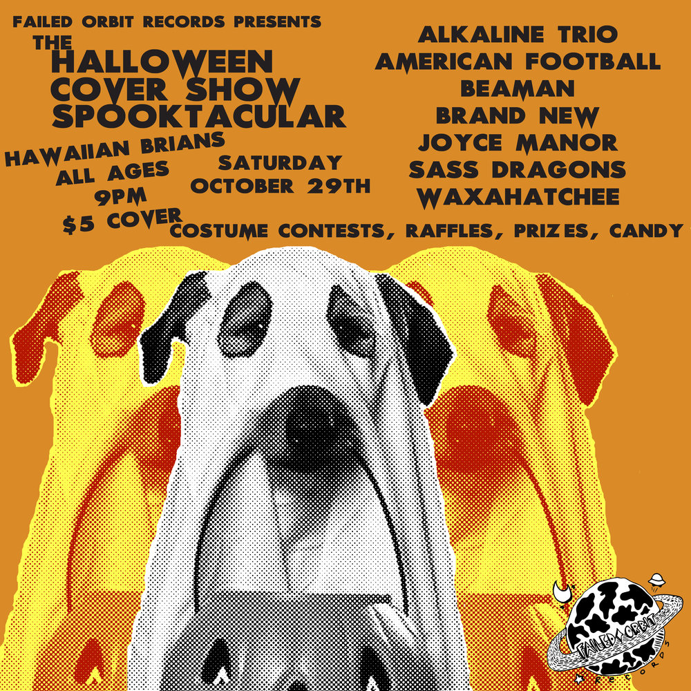 10/29: The Halloween COVER Show Spooktacular