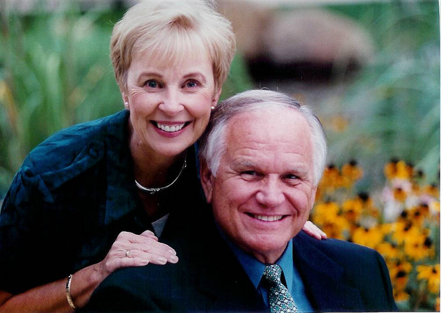 The founders of YWAM, Loren & Darlene Cunningham