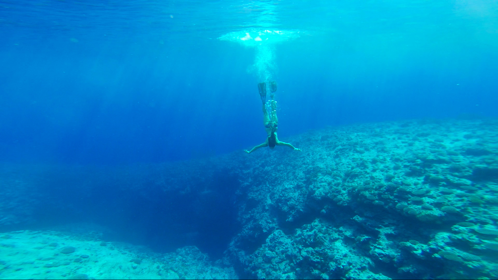 Zoey_Freediving_Niue_Ray