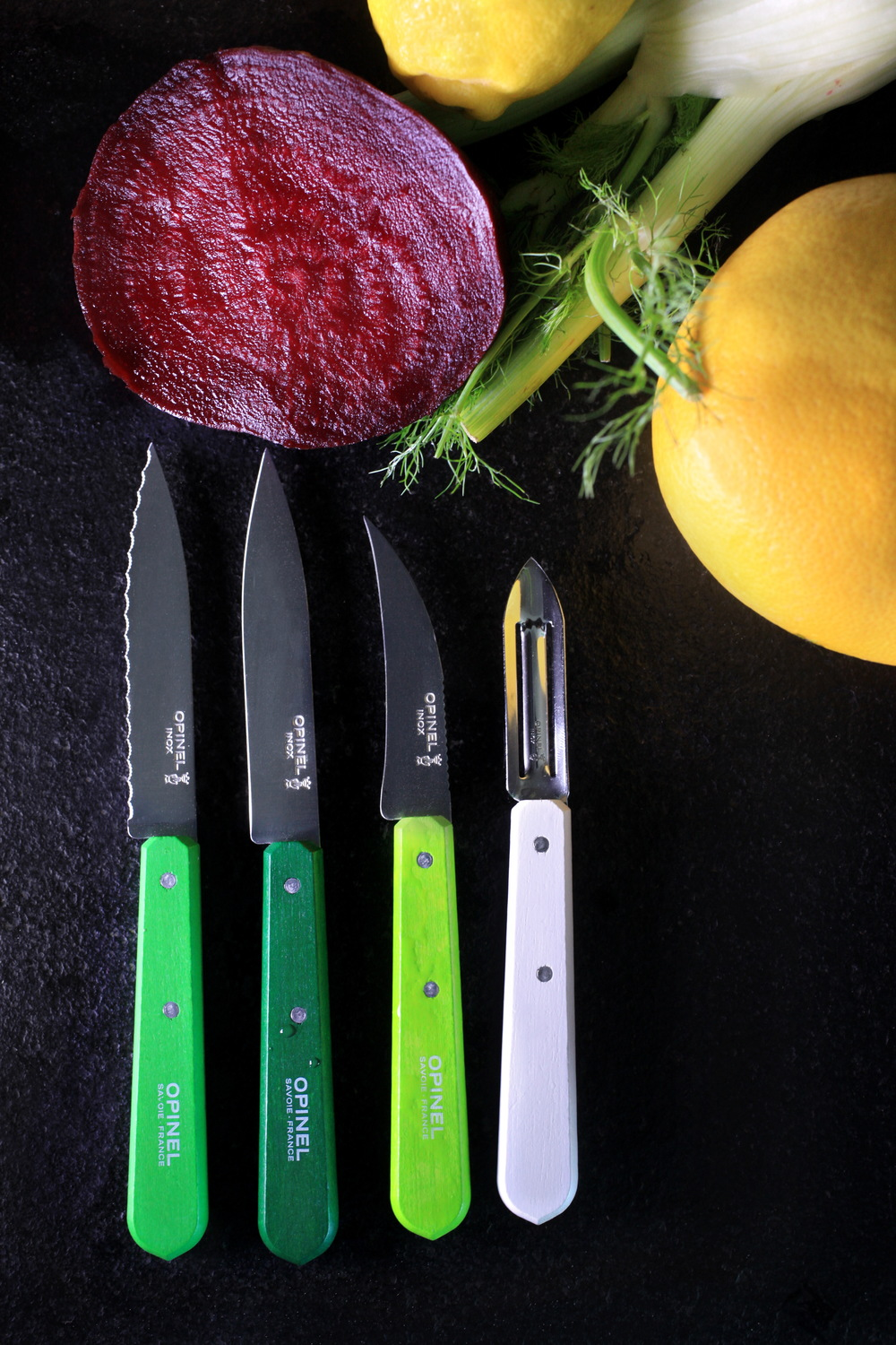 Opinel Art green and vegetables