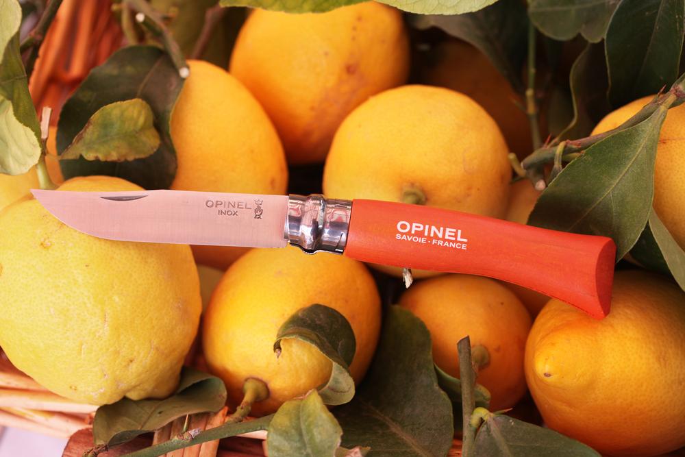 Orange Opinel Art
