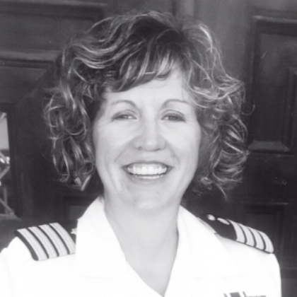 Fritzi McDonald-Wood  Retired Captain, U.S. Navy