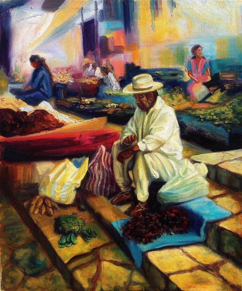 EL TATA  Oil / canvas  16 X 20 inches  2011
