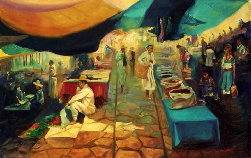 COLOR LUZ Y CONTRASTE  Oil / canvas  40 X 60 inches  2011