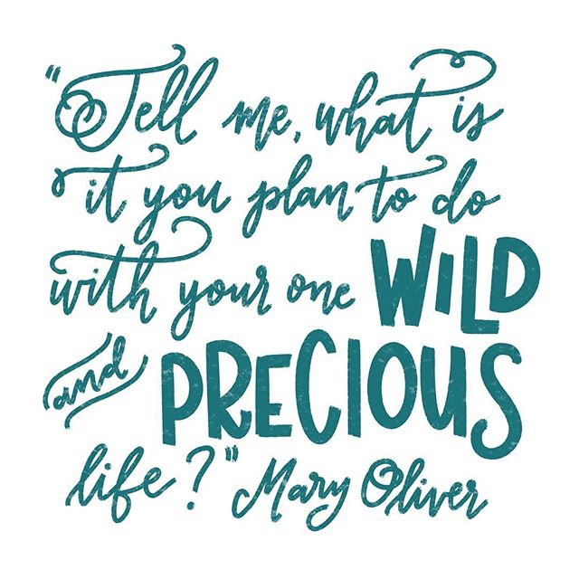 tell me #maryoliver