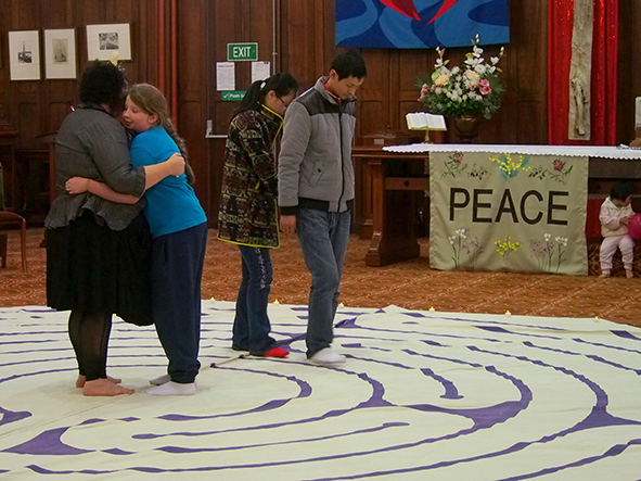 Labyrinth Walk – A pathway to peace