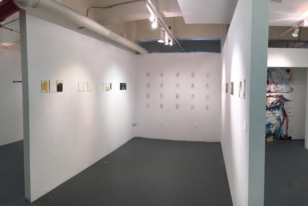 My AICAD studio ready for the opening!