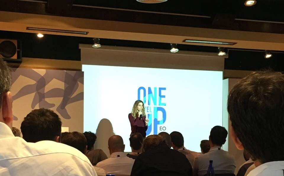 ONE LEVEL UP CONFERENCE    Συμμετοχή στο συνέδριο EO One Level Up 2017 του διεθνούς οργανισμού    Entrepreneurs' Organization    που συγκέντρωσε περίπου 100 επιχειρηματίες από όλο τον κόσμο στην Αθήνα, με workshops για το mindfulness μαζί με πρακτική εξάσκηση και ένα session κινητικού διαλογισμού Open Floor.