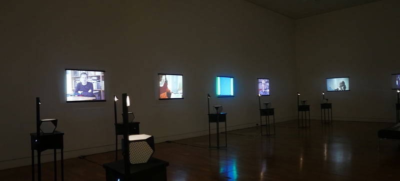 Scanlines on show at Dubbo's Western Plains Cultural Centre in 2015