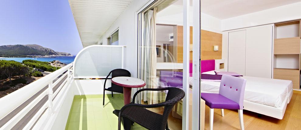 Zimmer mit Meerblick, S'Entrador Playa