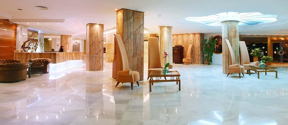 Lobby, Serrano Palace.