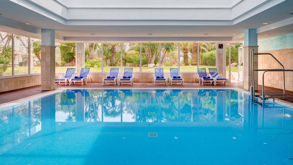 Innen-Pool, Hipotels Eurotel Punta Rotja & Spa