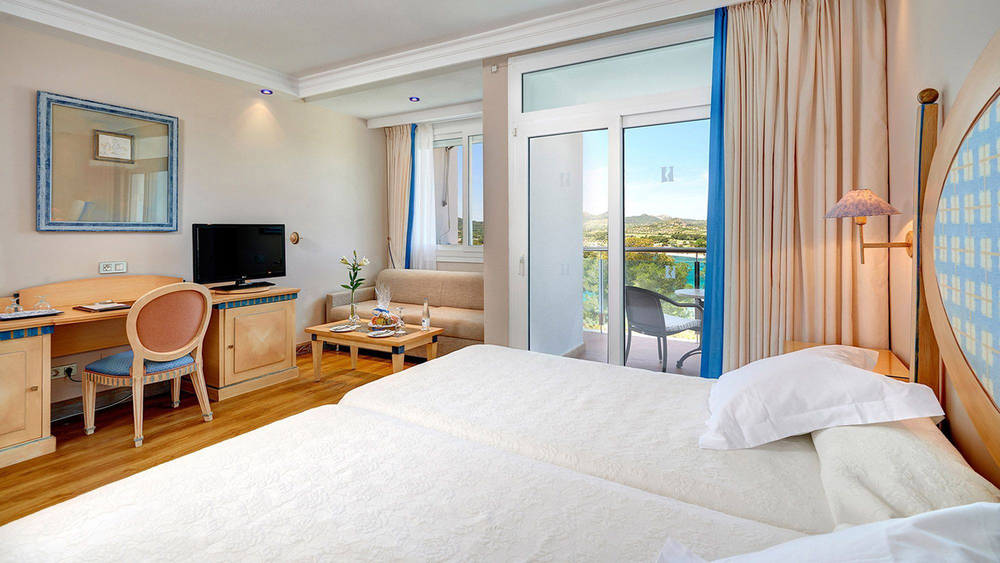 Superior Doppelzimmer, Meerblick, Hipotels Eurotel Punta Rotja & Spa