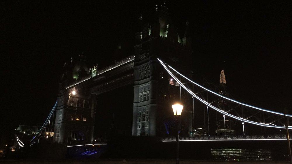 Photo of Tower Bridge at 6:34am