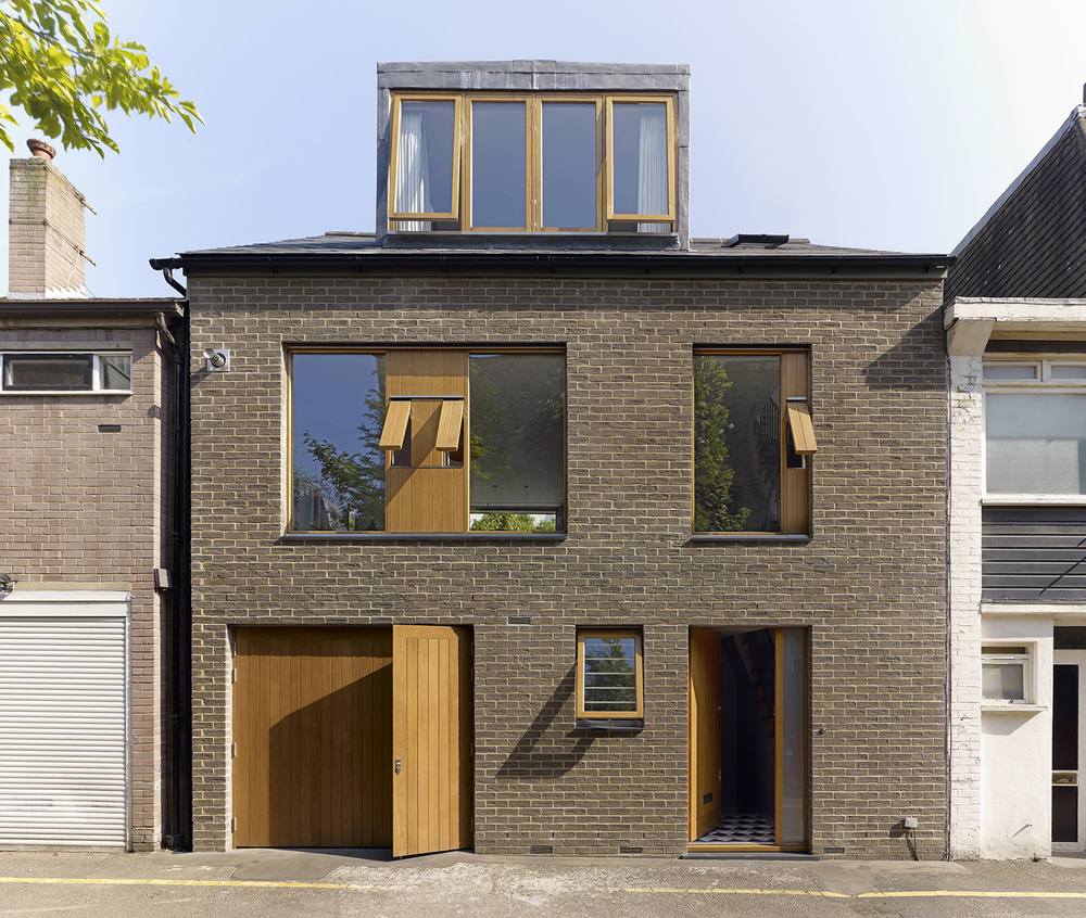 holland park mews house prewett bizley architects. Black Bedroom Furniture Sets. Home Design Ideas