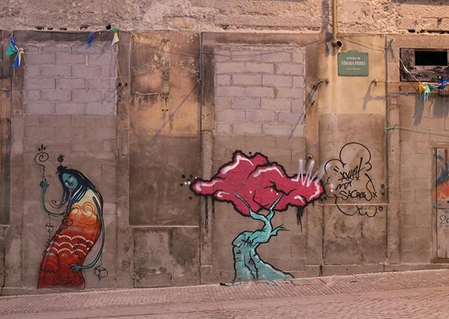 Porto-grafitti