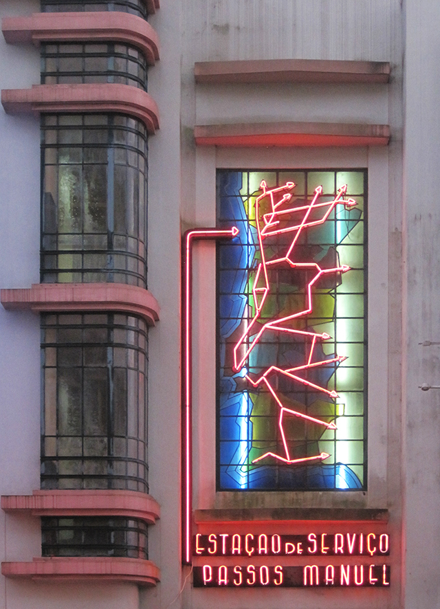 Porto-art-deco-garage-neon-map