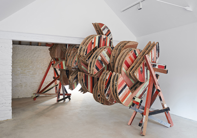 Grinder © Phyllida Barlow, courtesy the artist and Hauser & Wirth. Photo: Alex Delfanne