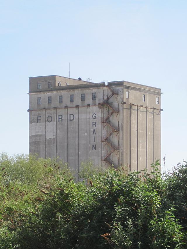 Ford grain silos