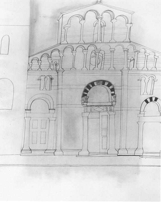 Ben Nicholson – Lucca San Pietro, 1956