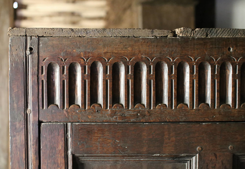 Abernodwydd-Farmhouse-carving-St Fagans-Welsh-Vernacular