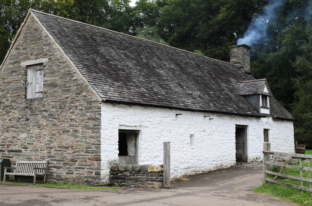 Cilewent-Farmhouse-St Fagans-Welsh-Vernacular
