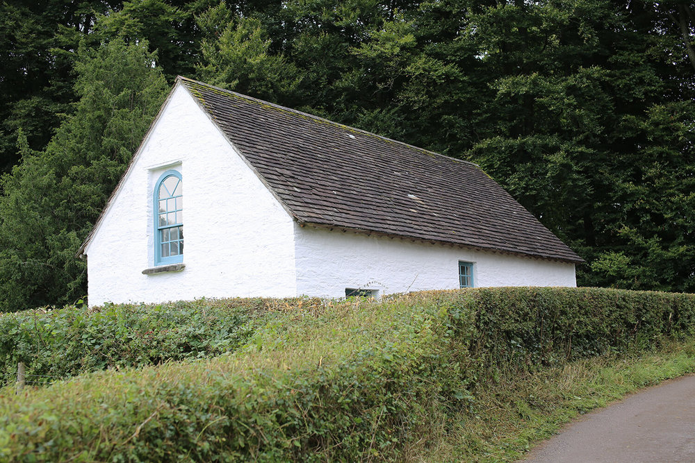 Pen-rhiw-Chapel-St Fagans-National-History-Museum-Wales-Bizley-Architect