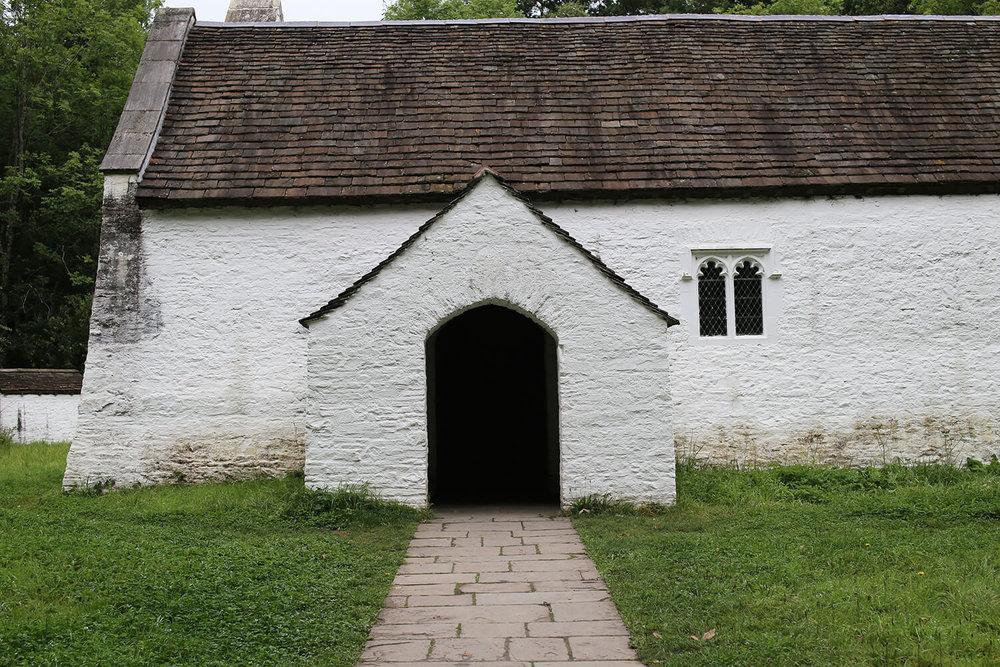 St Teilo's-church-porch-St Fagans-Welsh-Vernacular