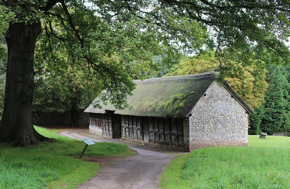 Stryd-Lydan-Barn-St Fagans-oak-frame-welsh-vernacular