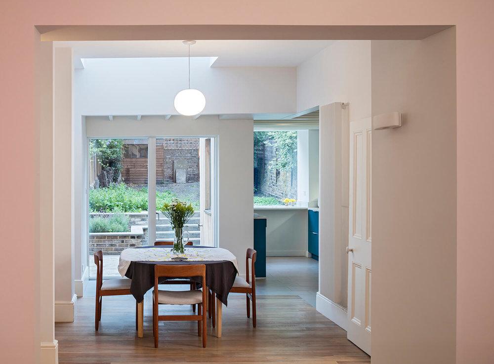 Kentish Town - Prewett Bizley Architects - Dining room.jpg