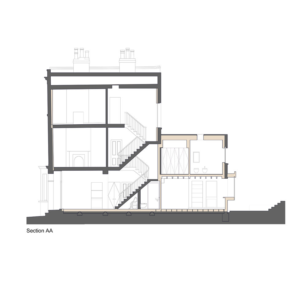 Prewett Bizley Architects KentishTown - Section.jpg