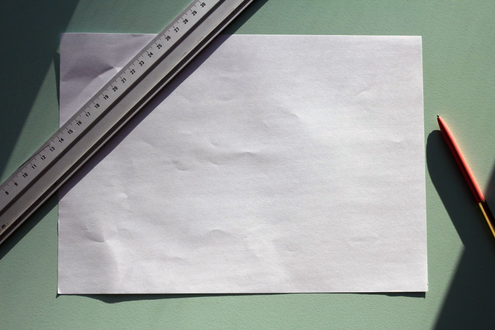 Vælg en passende papirstørrelse. Et A3-ark bliver fx lidt større end et A5-ark efter foldning.
