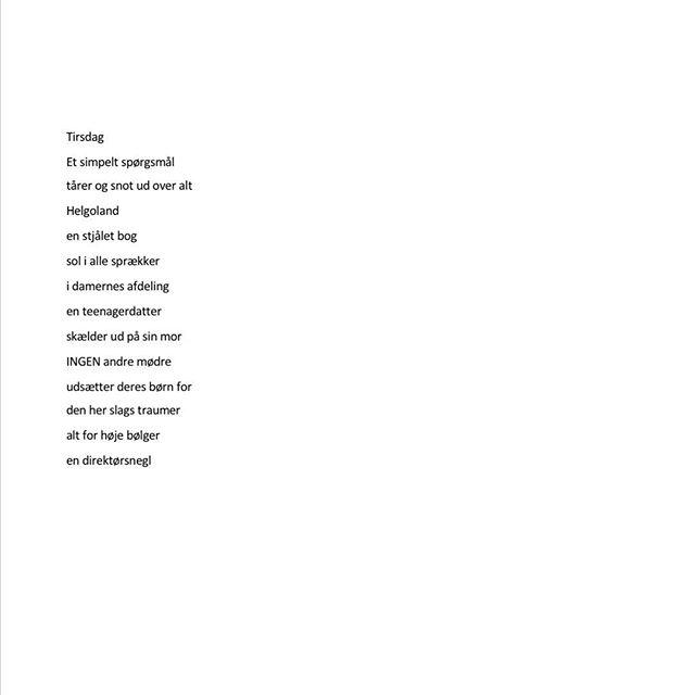 Alt for høje bølger 🌊 #helgoland #ord #digt #traumer #dklit #dklitt