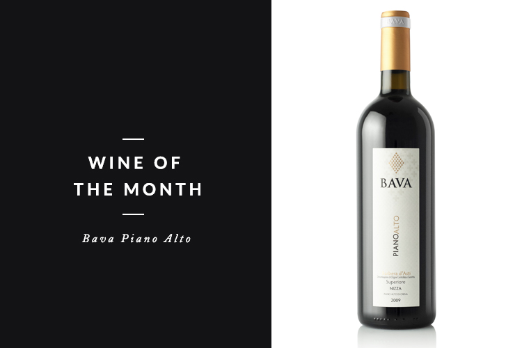 BAVA PIANO ALTO  With a rating of 89 points from Wine Enthusiast Magazine  Bava Piano Alto  is our pick for Wine of the Month. With bright aromas, cherry cola, red apple, balsam notes, dried mint, currant berry this is a unique, graceful and elegant wine.   Watch the video below to hear Andreas Larsson, the world's best Sommelier give a review of the Bava Piano Alto.