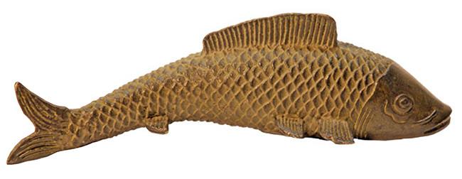 KOI Fisch aus Messing. 23 €