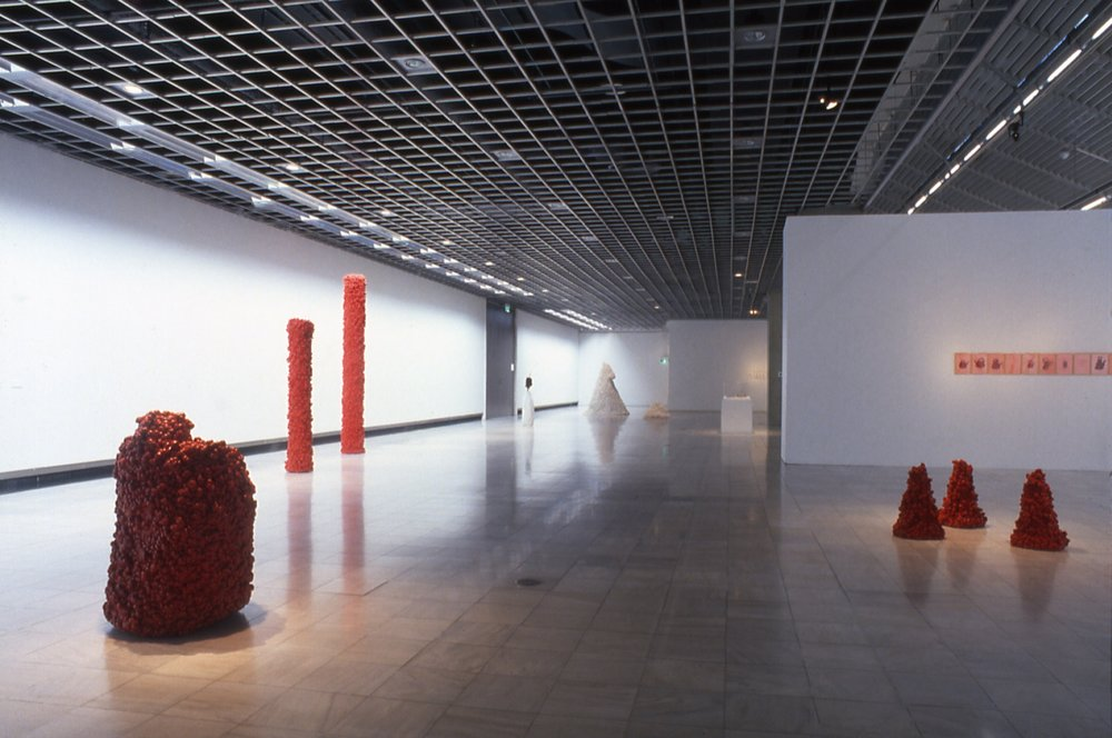 Empreintes, Dessins et Objets, 1972-1995   |  1998-1999 National Museum of Art - Osaka, Japon