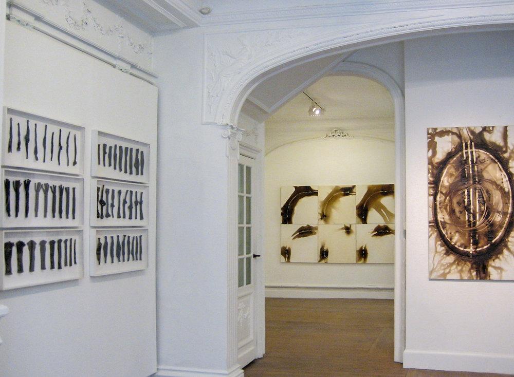 Noeuds et Combustions  | 2007 Galerie Acteon -Bruxelles,Belgique