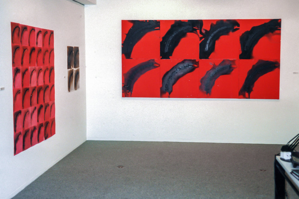 Brulis Polyptyque  | 1994 Itsutsuji Gallery - Osaka,Japon