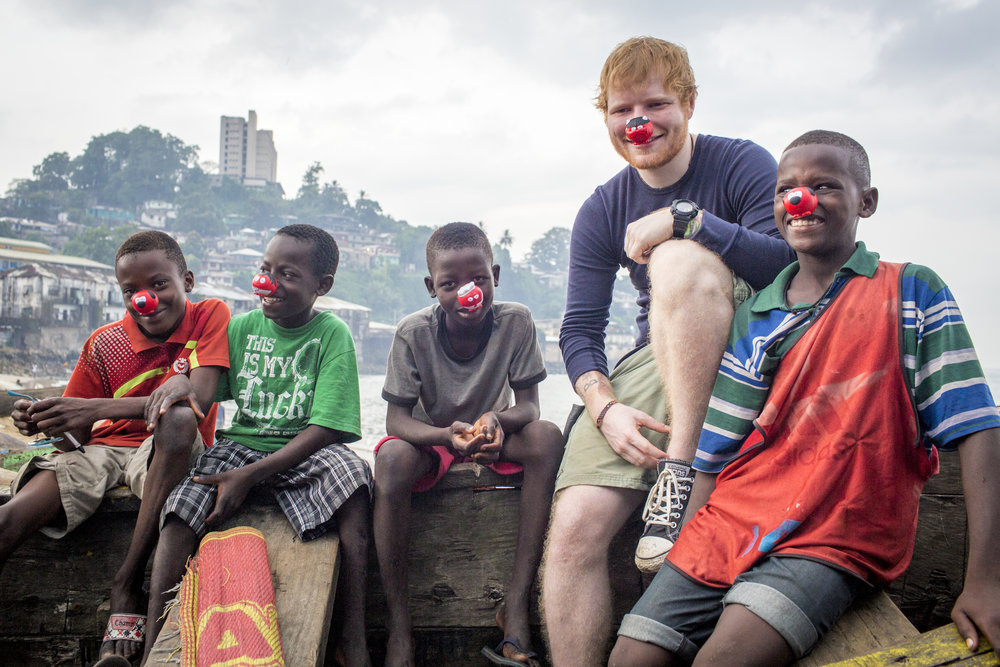 ED SHEERAN-COMIC RELIEF