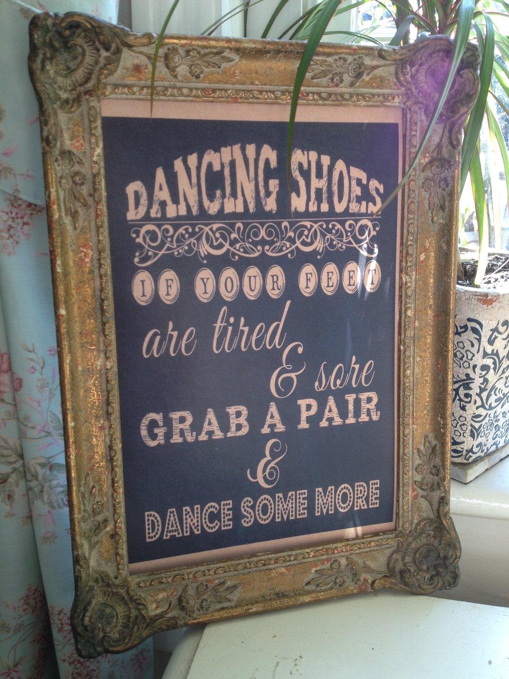 Dancing shoes - sign.JPG