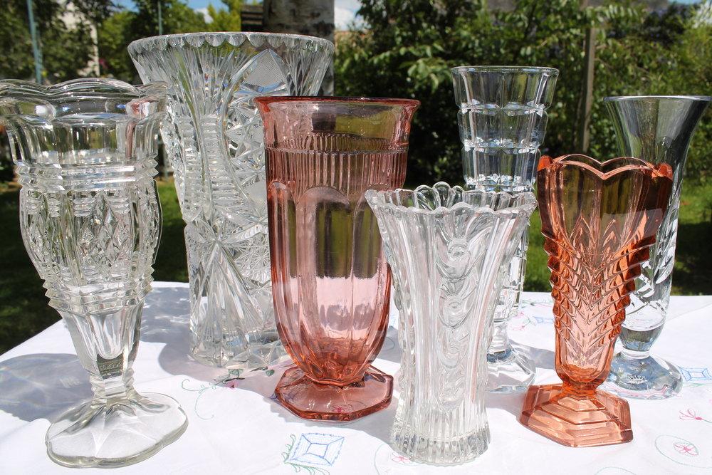 inventory vintage flower vases.JPG