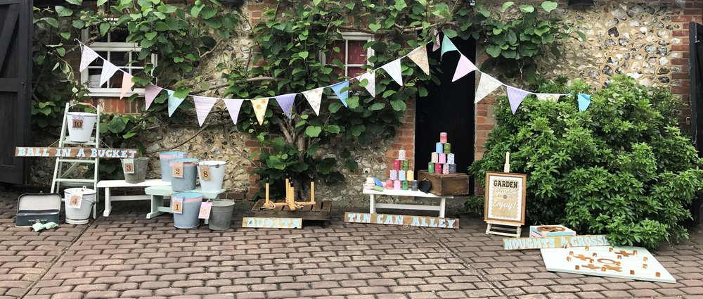 Traditional vintage fete games