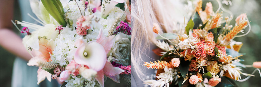 The Sleeping Flower Company Look Book Dried Flower Bouquets