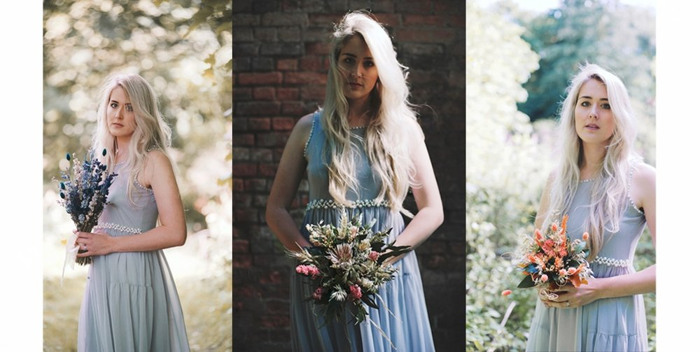 The Sleeping Flower Company Look Book Bridesmaid bouquets rustic