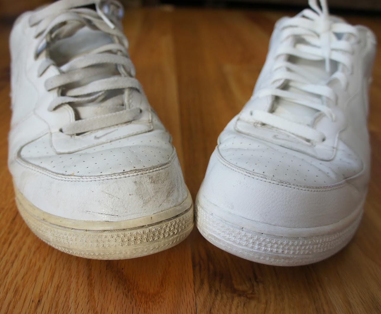 Diy comment vraiment nettoyer des baskets tradono blog ch - Nettoyer basket blanche bicarbonate ...